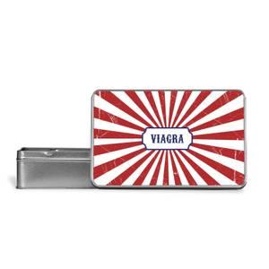 Viagra Metal Storage Tin