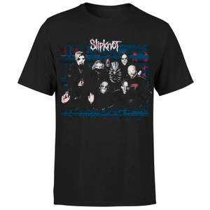 Slipknot Glitch T-Shirt - Black