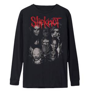 Slipknot We Are Not Your Kind Long Sleeve T-Shirt - Black