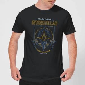 Marvel Guardians Of The Galaxy Interstellar Flights Men's T-Shirt - Black