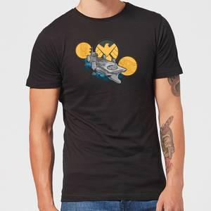 Marvel S.H.I.E.L.D. Helicarrier Men's T-Shirt - Black