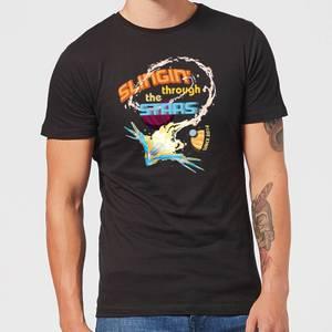 Marvel Guardians Of The Galaxy Milano Stars Men's T-Shirt - Black