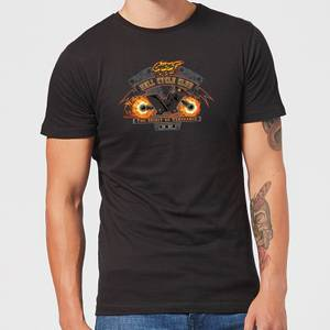 T-Shirt Marvel Ghost Rider Hell Cycle Club - Nero - Uomo