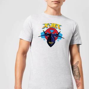 T-Shirt Marvel X-Men X-Jet - Grigio - Uomo