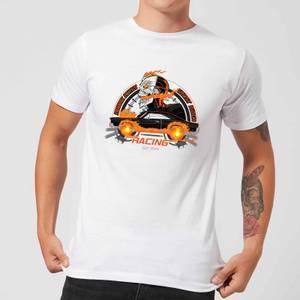 T-Shirt Marvel Ghost Rider Robbie Reyes Racing - Bianco - Uomo