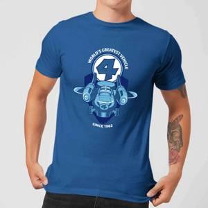 Marvel Fantastic Four Fantasticar Men's T-Shirt - Royal Blue