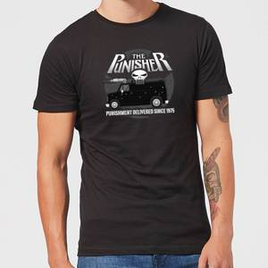 Marvel The Punisher Battle Van Men's T-Shirt - Black