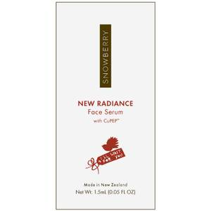 Snowberry NEW RADIANCE Face Serum with CuPEP 1.5ml