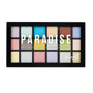 Barry M Cosmetics Baked Eyeshadow Palette Paradise