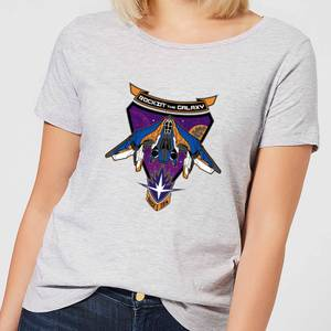 T-Shirt Marvel Guardians Of The Galaxy Rockin Milano - Grigio - Donna