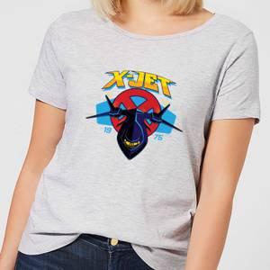 Marvel X-Men X-Jet Women's T-Shirt - Grey