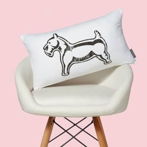 Monopoly Dog Rectangular Cushion
