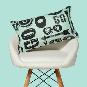 Monopoly Go! Letterpress Rectangular Cushion