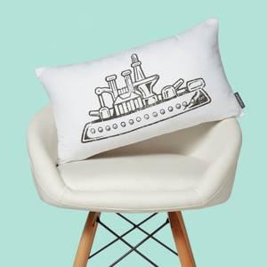 Monopoly Ship Rectangular Cushion