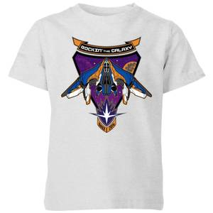 Marvel Guardians Of The Galaxy Rockin Milano Kids' T-Shirt - Grey