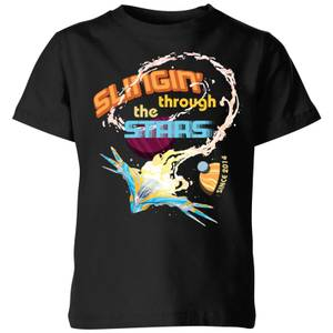 Marvel Guardians Of The Galaxy Milano Stars Kids' T-Shirt - Black