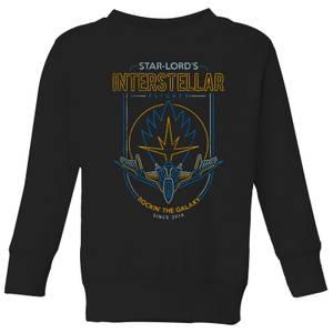 Marvel Guardians Of The Galaxy Interstellar Flights Kids' Sweatshirt - Black