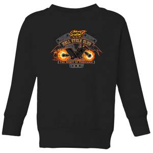 Marvel Ghost Rider Hell Cycle Club Kids' Sweatshirt - Black