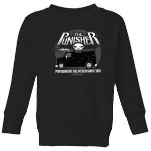 Marvel The Punisher Battle Van Kids' Sweatshirt - Black