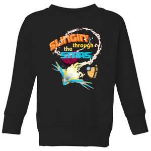 Marvel Guardians Of The Galaxy Milano Stars Kids' Sweatshirt - Black