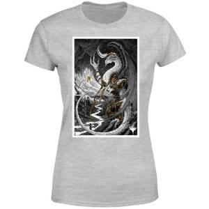 Magic The Gathering Bolas Poster Art Women's T-Shirt - Grey