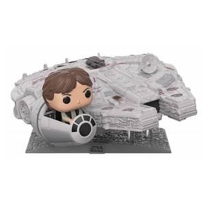 Star Wars - Millennium Falke mit Han Solo EXC Pop! Deluxe Figur