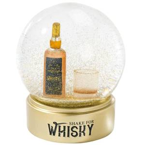 Whiskey Snow Globe