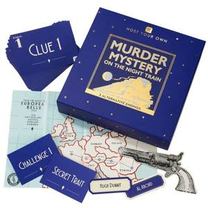 Host Your Own - Murder Mystery on the Night Train Game