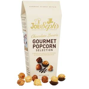 Joe & Seph's Chocolate Lovers Popcorn Selection