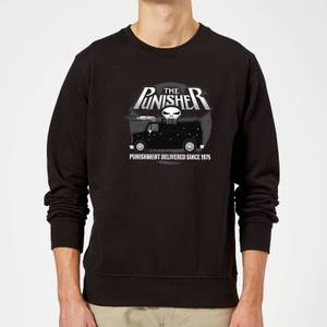 Marvel The Punisher Battle Van Sweatshirt - Black