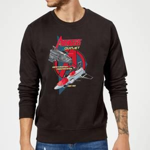 Marvel The Avengers Quinjet Sweatshirt - Black