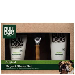 Bulldog Expert Shave Set (Worth £21.50)