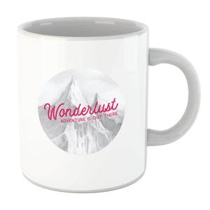 Mountain Wonderlust Adventure Is Out There Mug
