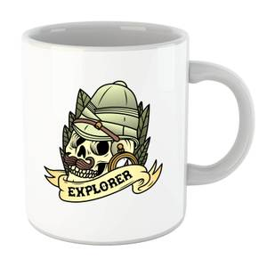 Explorer Skull Mug