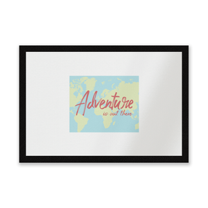 Adventure Is Out There Entrance Mat
