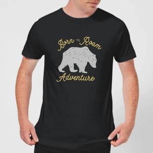 Adventure Born To Roam Men's T-Shirt - Black
