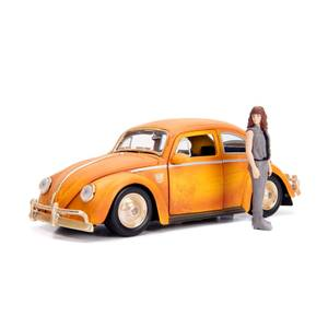 Jada Die Cast 1:24 Bumblebee VW Beetle with Figure