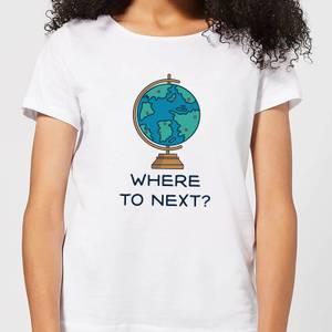 Globe Where To Next? Women's T-Shirt - White