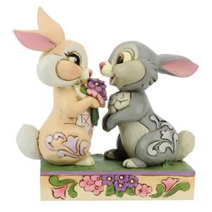 Disney Traditions - Bouquet de lapin (Figurine Thumper et Blossom)