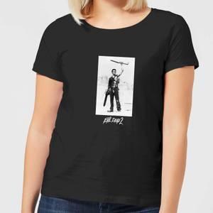 Evil Dead 2 Ash Boomstick Women's T-Shirt - Black