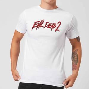 Evil Dead 2 Logo Men's T-Shirt - White