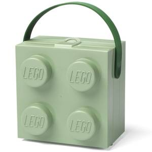 LEGO Lunch Box with Handle - Sand Green
