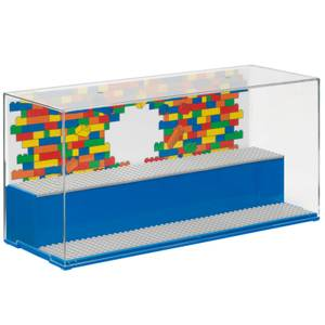 LEGO Play & Display Case - Blue