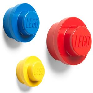 LEGO Wall Hanger Set - Red/Blue/Yellow