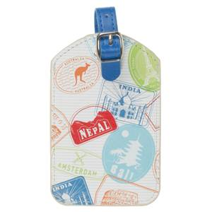 Trendz Stamps Luggage Tag