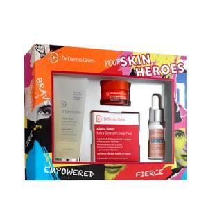 Dr Dennis Gross Skincare Your Skin Heroes Kit 180ml (Worth $98)