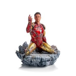Statuetta 1:10 di I am Iron Man, da Avengers: Endgame, BDS Art - Iron Studios - 15 cm