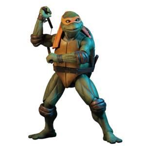 Figurine Michelangelo, échelle 1:4, Les Tortues Ninja (film de1990)– NECA