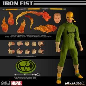 Mezco One:12 Collective Marvel Comics Iron Fist Action Figure