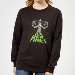 Beetlejuice It's Show-Time Women's Sweatshirt - Black